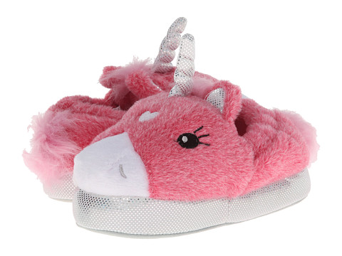 Stride Rite Lighted Unicorn Slipper (Infant/Toddler/Youth) - Pink Multi