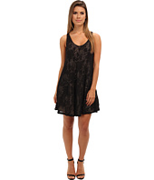 Brigitte Bailey - Lace V-Neck Flowy Dress