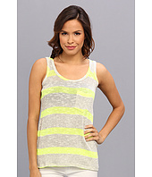 C&C California - Vivid Stripe Loose Knit Pocket Tank