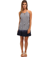 C&C California - Dip-Dye Gingham Dress