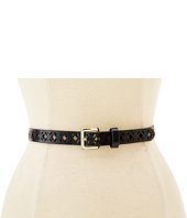 Steve Madden - Diamond Perforated Two for One Belt