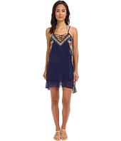 Vix - Sofia by Vix Agra Pia Short Dress Cover-Up