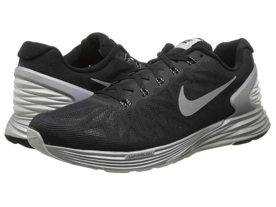 Nike Lunar Glide Flash (Black/Reflective Silver) Men's Running Shoes