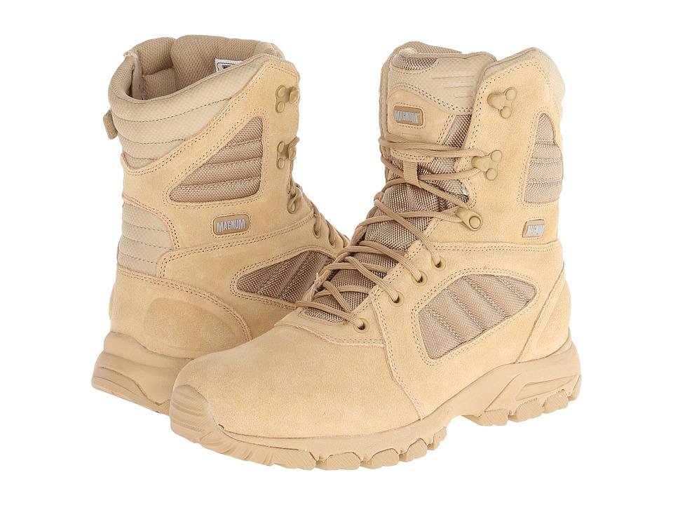 Magnum Response III 8.0 SZ Desert Tan Mens Work Boots