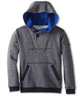 Armani Junior - Hooded Pullover Sweatshirt (Toddler/Little Kids/Big Kids)