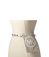 MICHAEL Michael Kors - 13mm Veg Belt Bag with/ MK Logo