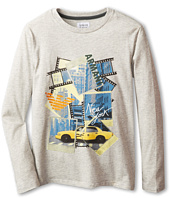 Armani Junior - Long Sleeve Graphic T-Shirt (Toddler/Little Kids/Big Kids)
