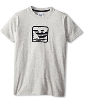 Armani Junior - Short Sleeve Armani Logo Tee (Big Kids)
