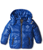 Armani Junior - Armani Logo Hooded Coat (Infant)