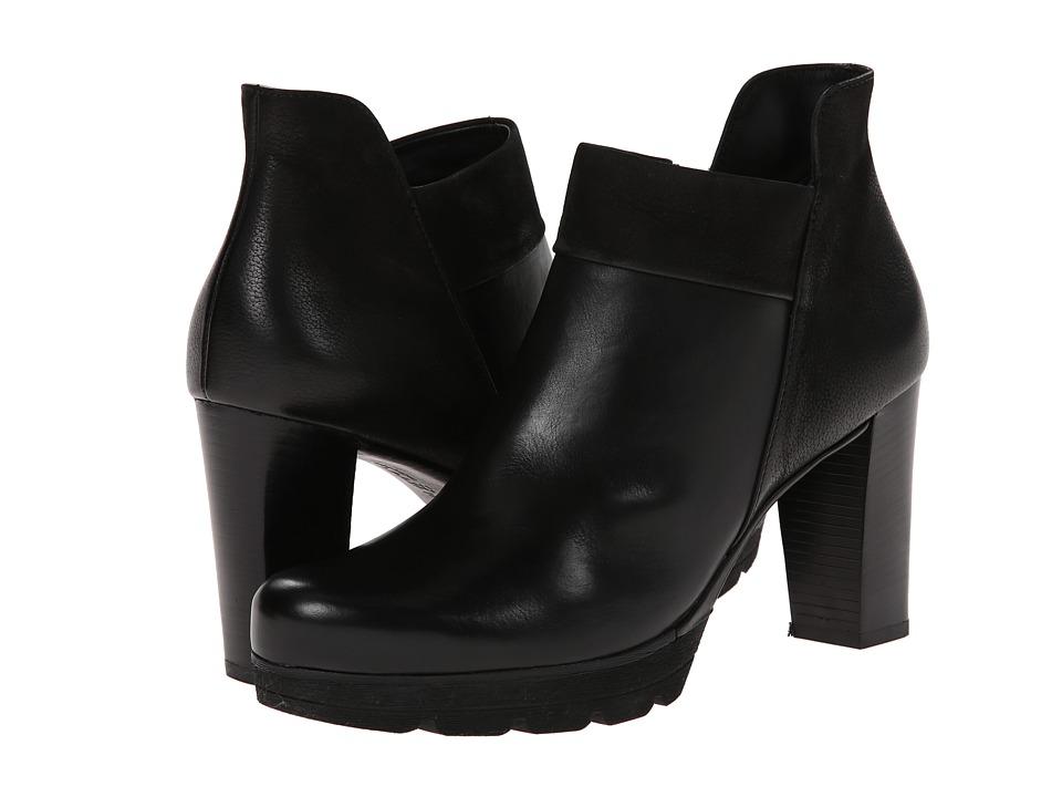 Paul Green Alissa (Black Leather) Women