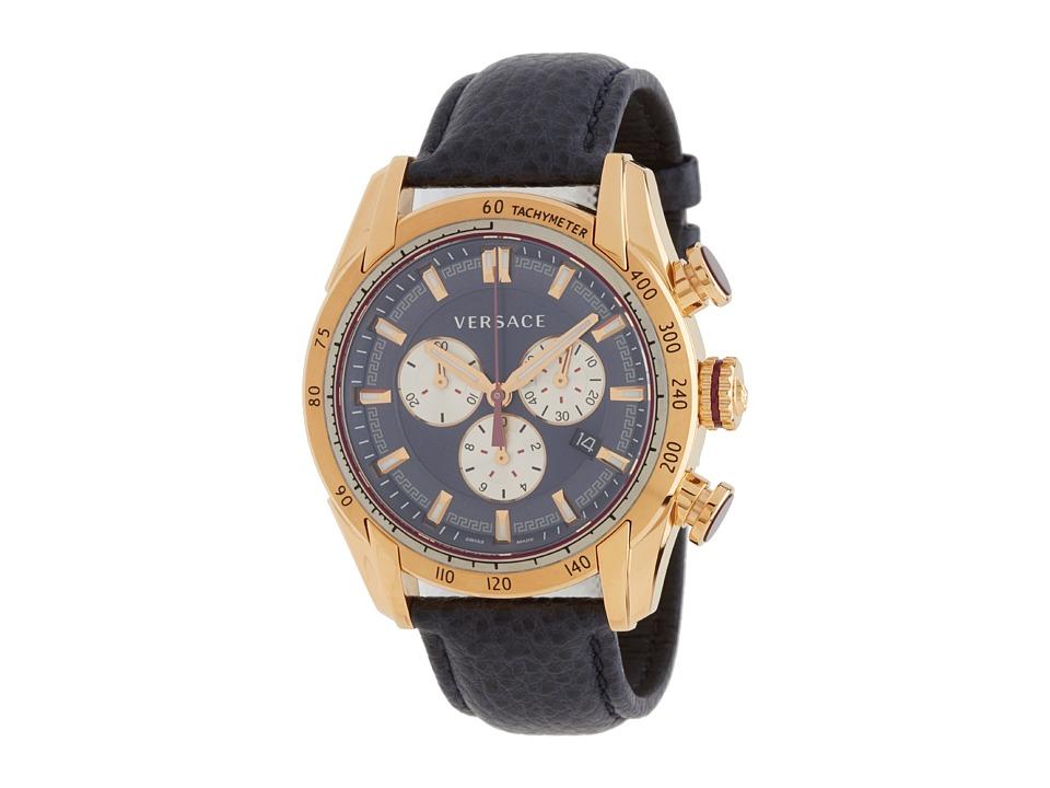 Versace V Ray VDB03 0014 Rose Gold/Black Watches