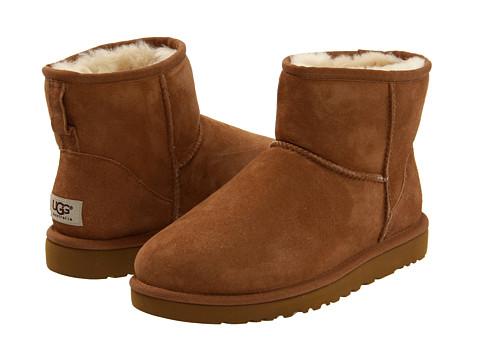 UGG - Classic Mini (Chestnut) Women's Pull-on Boots