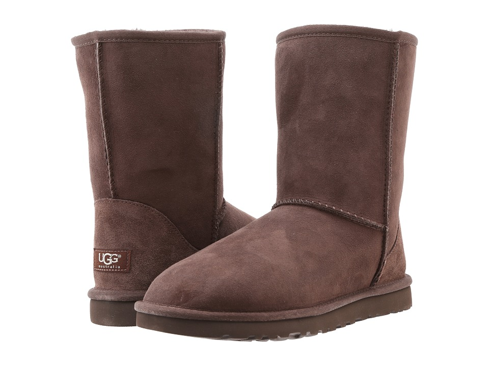 UGG Classic Short (Chocolate) Women's Pull-on Boots