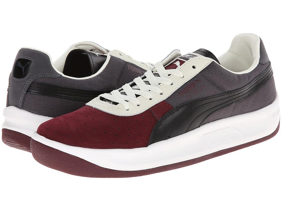 Image of PUMA GV Special NBK Tricolor (Zinfandel/Steel Gray/Black) Men's Classic Shoes