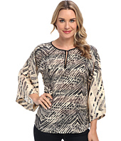 NIC+ZOE - Linear Strokes Shirt