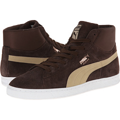 Suede Mid Classic Nat Calm 2 (Demitasse Brown/Cornstalk)