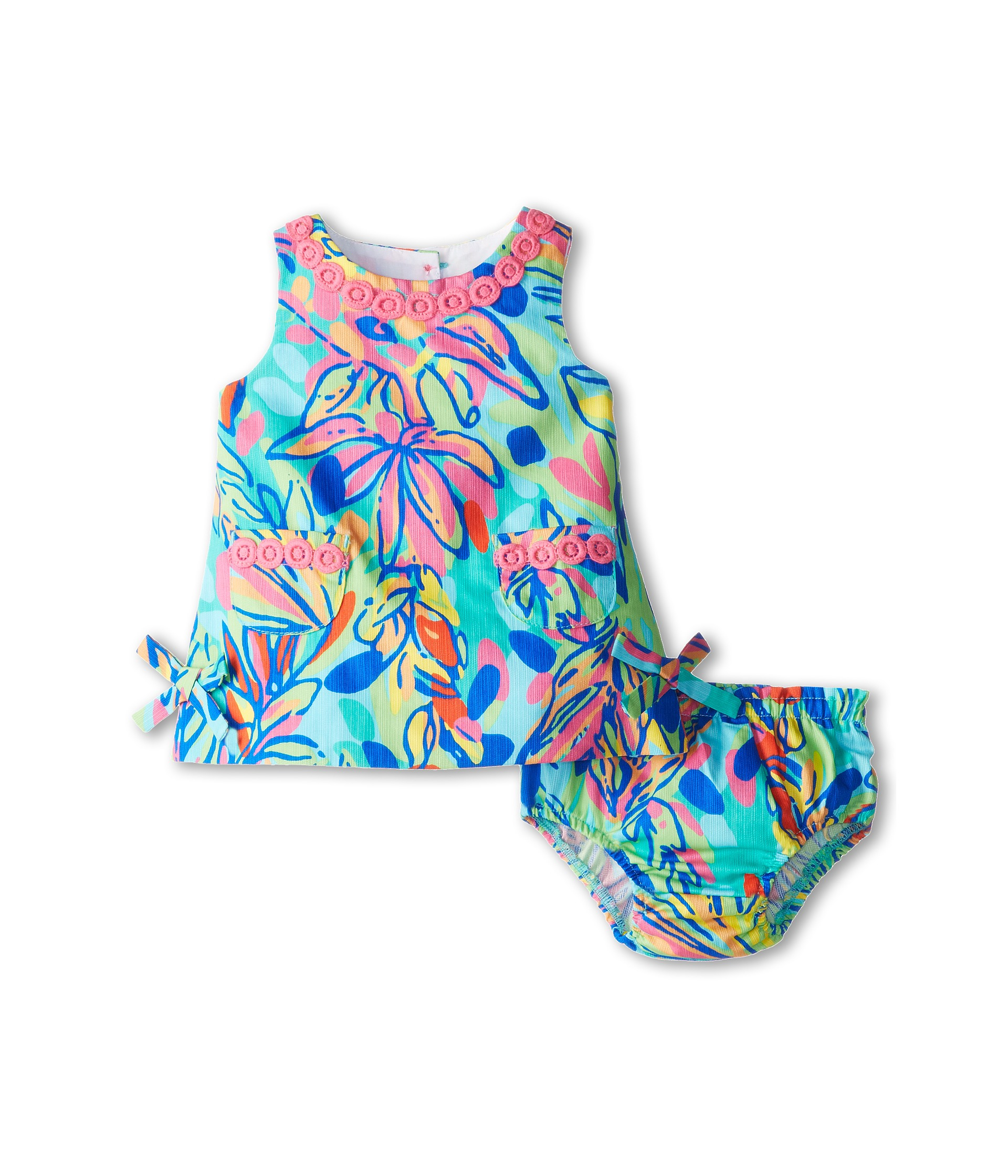 Lilly Pulitzer Kids Baby Lilly Shift Dress Infant Multi