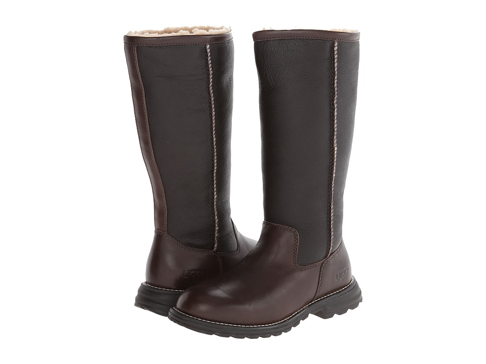 UGG Brooks Tall (Brown) Women's Pull-on Boots