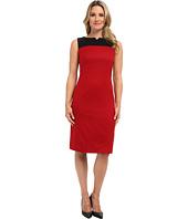 Pendleton - Ultra 9™ Stretch Worsted Color Block Sheath Dress