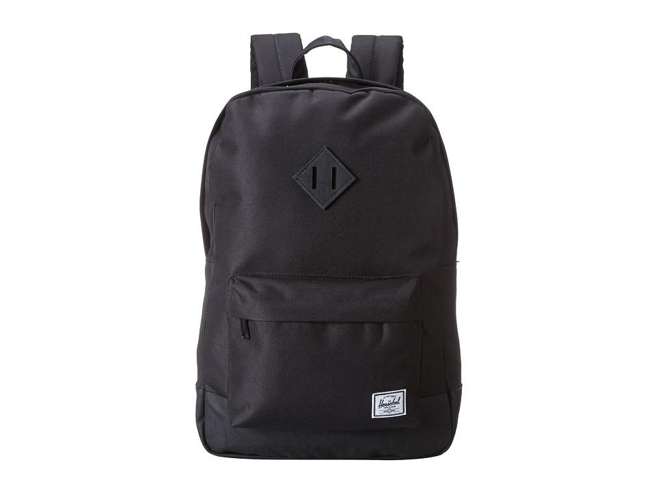Herschel Supply Co. Heritage Black/Black Backpack Bags