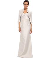 Adrianna Papell - Strapless Gown w/ Bolero