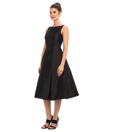 Adrianna Papell Sleeveless Tea Length Dress - Zappos.com Free ...