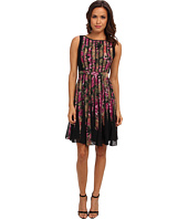 Adrianna Papell - Fractured Floral Dress