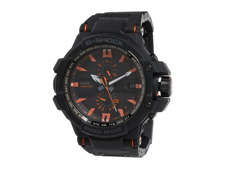 G Shock G Aviation Triple G Resist GWA1000 Black Watches