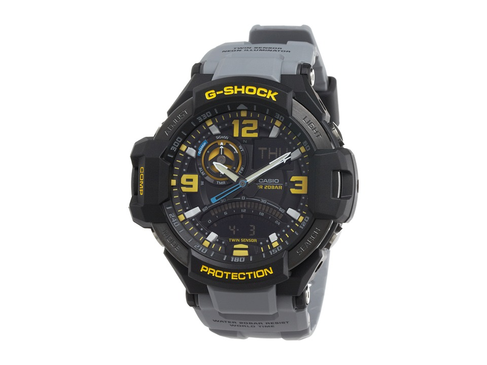 G Shock G Aviation GA1000 Grey Watches