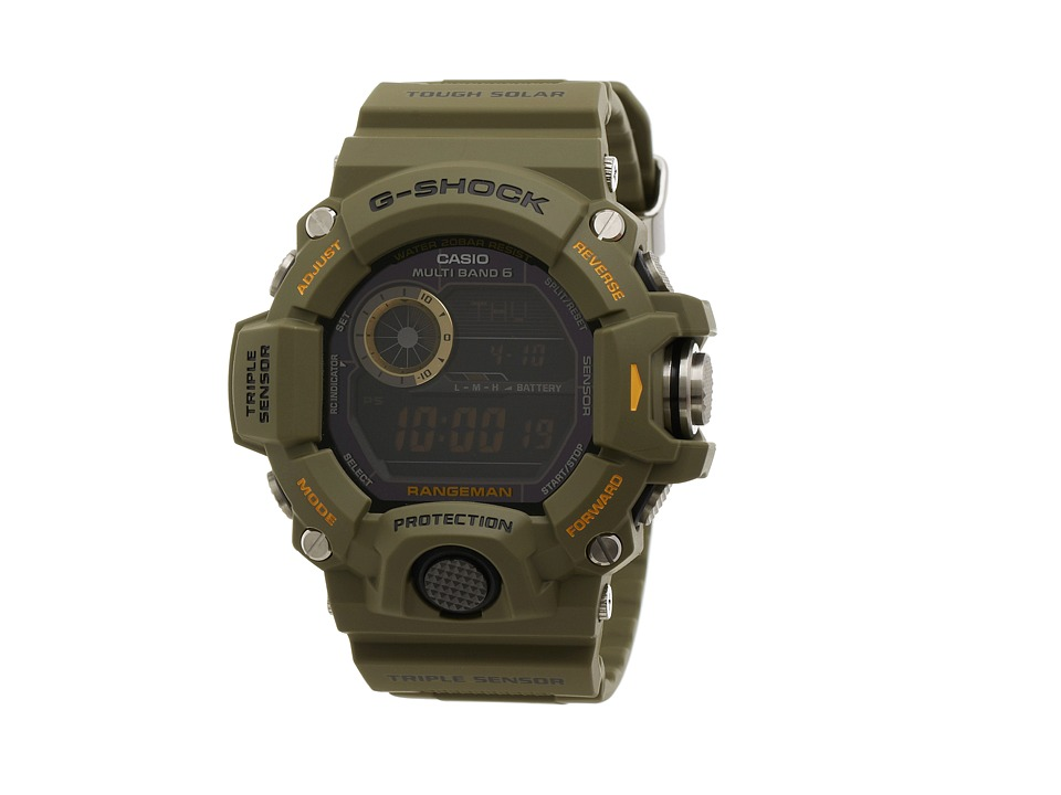 G Shock Rangeman GW9400 Green Watches