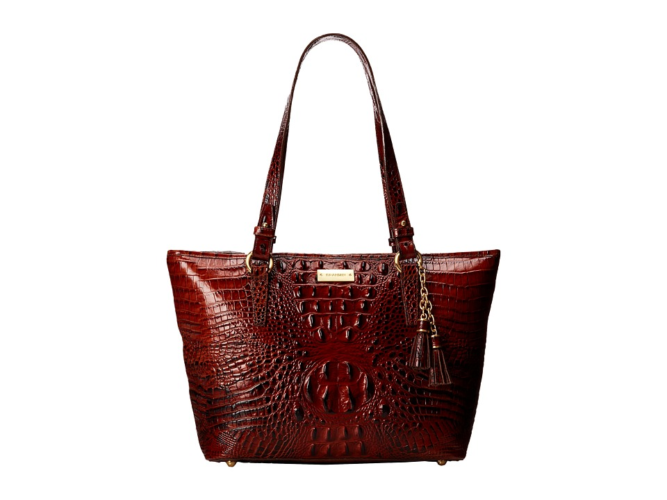 Brahmin Medium Asher Pecan Tote Handbags