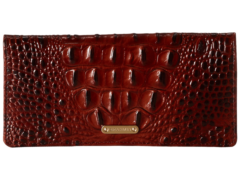 Retro Handbags, Purses, Wallets, Bags Brahmin - Ady Pecan Wallet Handbags $95.00 AT vintagedancer.com