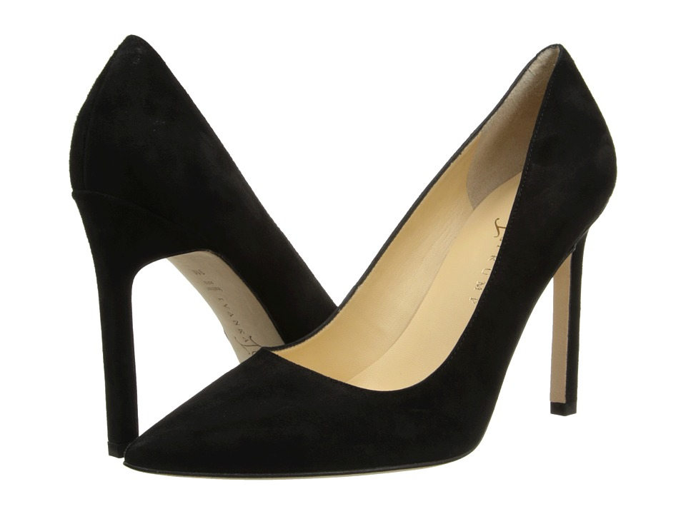Ivanka Trump - Carra3 (Black Suede) High Heels