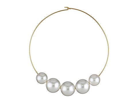 Kenneth Jay Lane 8041NGWP - Gold/White Pearl