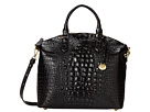 Brahmin Large Duxbury Satchel (Black)