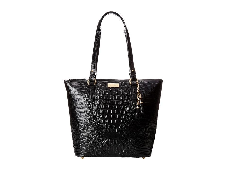 Brahmin Asher Black Tote Handbags