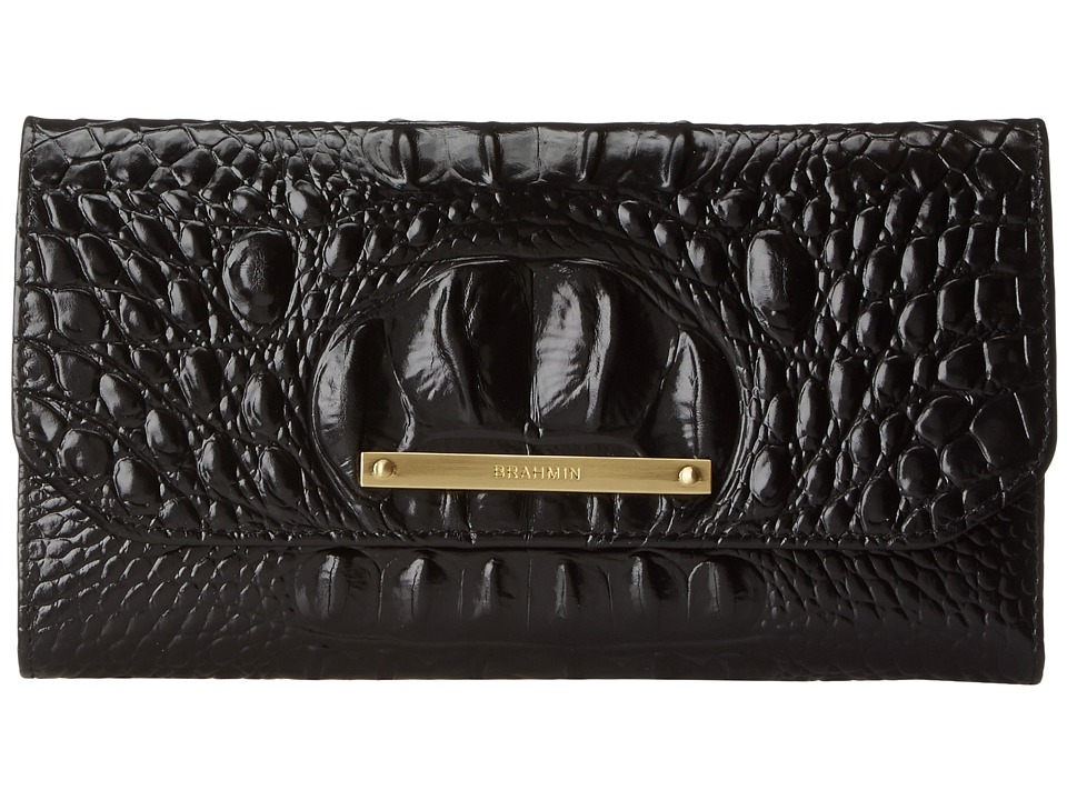 Brahmin - SCB (Black) Wallet Handbags