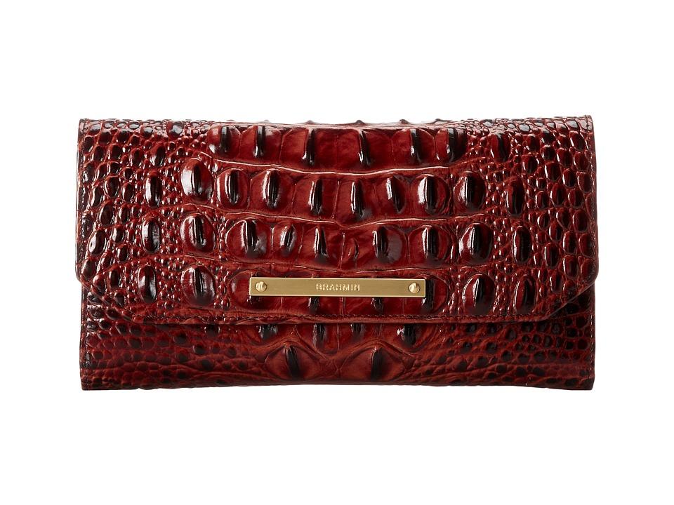Brahmin SCB Pecan Wallet Handbags