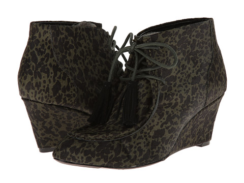 Shop Rebecca Minkoff online and buy Rebecca Minkoff Mia Army Green Speckled Haircalf Footwear - Zappos.com is proud to offer the Rebecca Minkoff - Mia (Army Green Speckled Haircalf) - Footwear: Upgrade your look with the Mia moccasin wedges from Rebecca Minkoff! ; Suede upper. ; Lace-up closure with tassels. ; Pointed-toe silhouette. ; Moc-toe stitching. ; Leather lining. ; Lightly padded leather footbed. ; Wrapped wedge. ; Leather outsole. ; Imported. Measurements: ; Heel Height: 2 3 4 in ; Weight: 12 oz ; Shaft: 4 1 2 in ; Product measurements were taken using size 9.5, width M. Please note that measurements may vary by size.