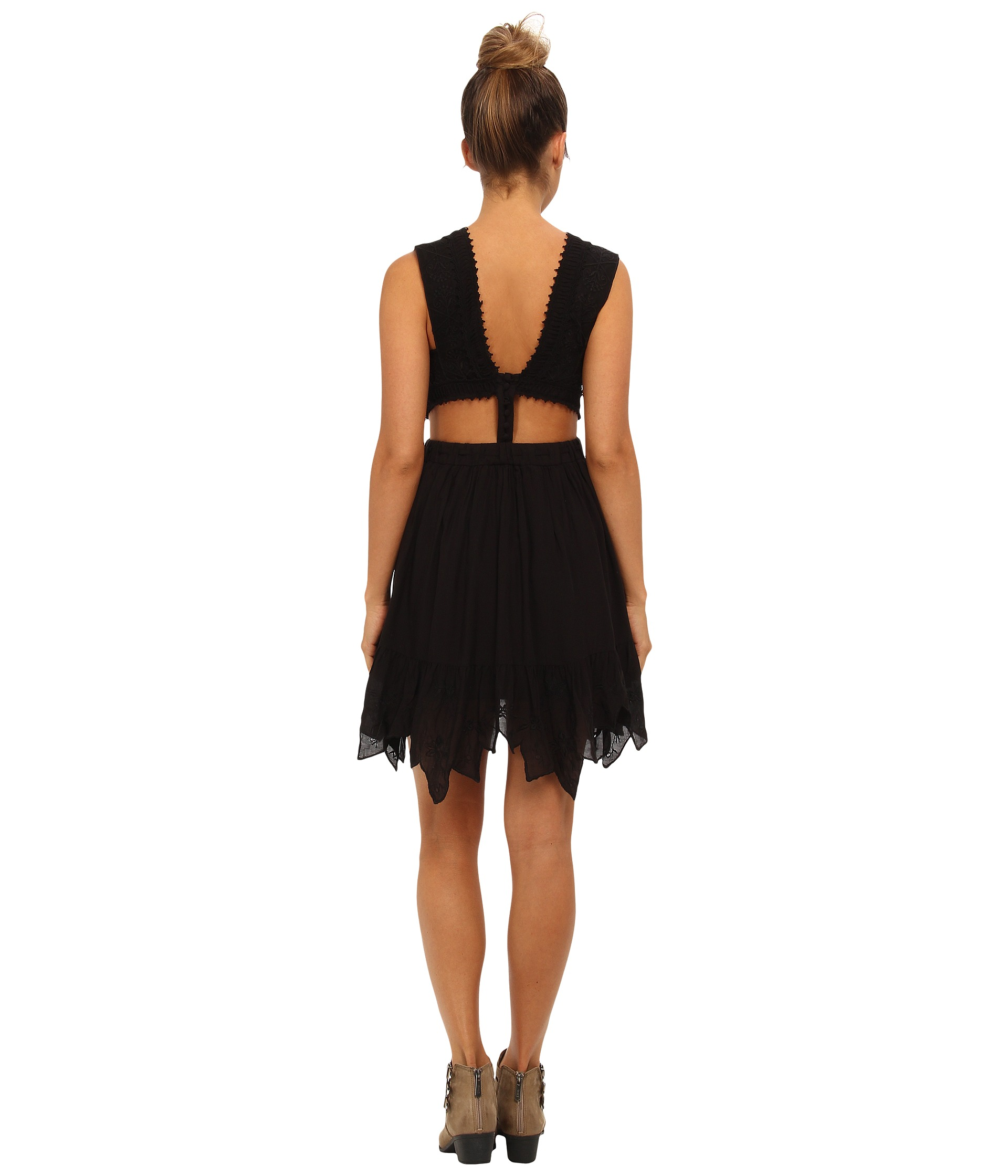 Free People Lace Honeysuckle Dress