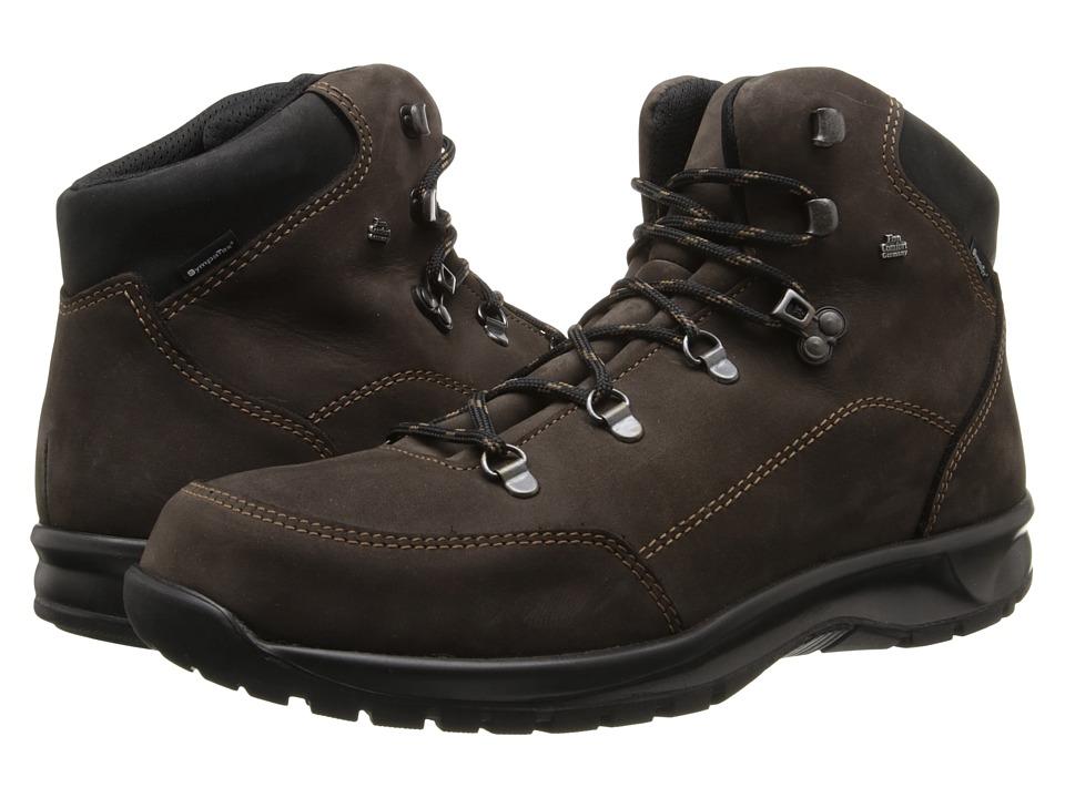 Finn Comfort - Tibet - 3914 (Shiefer Schwarz/Neptune Buggy) Lace-up Boots