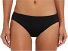 LAUREN Ralph Lauren Laguna Solids Hipster Bottom w/ Logo Plate