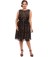Adrianna Papell - Plus Size Romantic Lace Fit & Flare