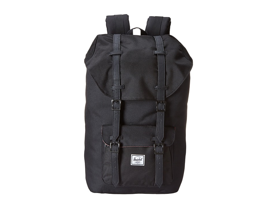 Herschel Supply Co. - Little America (Black/Black) Backpack Bags