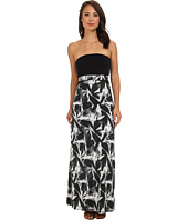 Hurley - Tomboy Mesh Maxi Dress/Optional Foldover Skirt