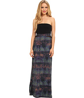 Hurley - Tomboy Mesh Maxi Dress/Optional Foldover Skirt