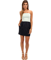 French Connection - Wizard Cotton Strapless Dress