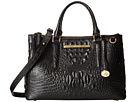 Brahmin Small Lincoln Satchel (Black)