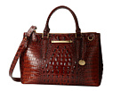 Brahmin Small Lincoln Satchel (Pecan)