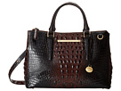 Brahmin Small Lincoln Satchel (Cocoa)